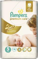 Pampers Premium Care 5 Junior (11-18 kg) 18 buc