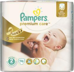 Pampers Premium Care 2 New Baby (3-6 kg) 96 buc