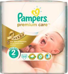Pampers Premium Care 2 Mini (3-6 kg) 22 buc