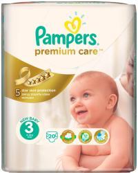 Pampers Premium Care 3 Midi (4-9 kg) 20 buc