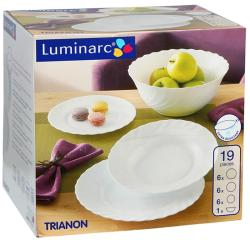 Luminarc Trianon/Opal 19 Részes Porcelán (503007)