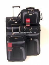 Travelite Orlando - kétkerekű, 4 darabos bőrönd szett