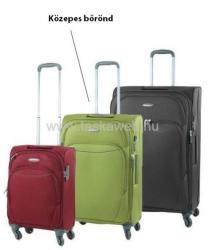 D&N DN-7464 - négykerekű közepes bőrönd