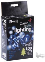 EMOS Formatervezett karácsonyi füzér 4m 40 LED-es (ZY1131)