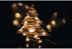 EMOS Karácsonyi Rattan Fa 30 LED-es (ZY1418)