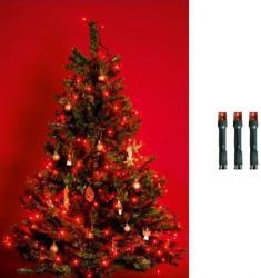 Home KI 200 LED/R 200db-os fényfüzér - piros