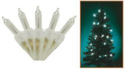 Home KIF 100T 100db-os fényfüzér átlátszó kábellel - fehér