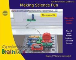 BrainBox Making Science Fun - Elektronikai érzékelők és riasztók (BB-6)