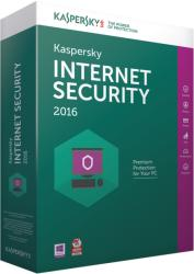 Kaspersky Internet Security 2016 Multi-Device (2 User, 1 Year) KL1941OBBFS