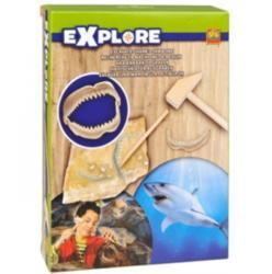 SES Explore - Őskövület kereső - Cápa állkapocs