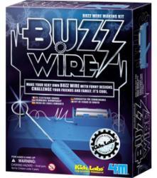 4M Kidz Labs - Buzz Wire - Készíts elektromos ügyességi játékot