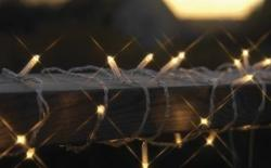 DekorTrend BLACK MICRO melegfehér fényfüzér 90db 8,9m (KSA 492)