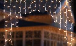 DekorTrend Design Dekor melegfehér LED-es fényfüggöny 220db 2x2m (KDB 002)