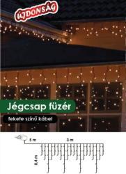 DekorTrend Design Dekor melegfehér LED-es jégcsapfüzér 101db 300x40cm (KDL 126)