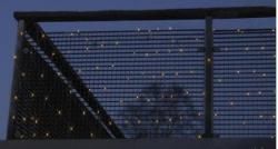 DekorTrend SERIE MICRO melegfehér fényháló 2x1,5m (KST 515)