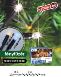 DekorTrend Design Dekor melegfehér toldható LED fényfüzér 50db 5m (KDK 001)