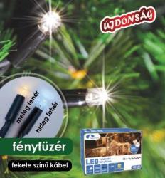 DekorTrend Design Dekor melegfehér toldható LED fényfüzér 100db 10m (KDK 002)
