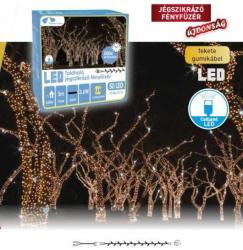 DekorTrend Design Dekor hidegfehér toldható LED-es jégszikrázó fényfüzér 100db 10m (KDK 212)