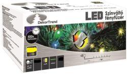 DekorTrend Design Dekor LED-es színváltó fényfüzér 120db 9,6m (KDM 122)