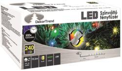 DekorTrend Design Dekor LED-es színváltó fényfüzér 240db 19,2m (KDM 242)