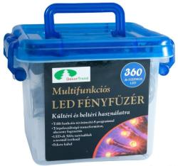 DekorTrend Design Dekor kék LED-es fényfüzér 8prg 4m (KTC 056)