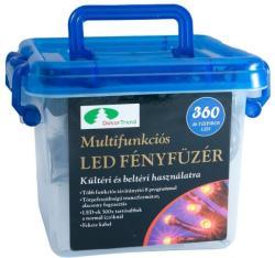 DekorTrend Design Dekor kék LED-es fényfüzér 8prg 5,9m (KTC 062)