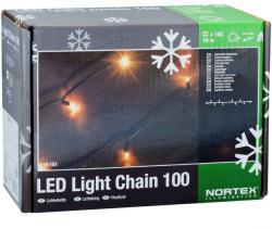DekorTrend NORTEX hidegfehér toldható LED-es fényfüzér 100db 10m (KMN 066)