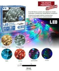 DekorTrend Színváltó toldható LED-es fénykábel 108db 3m (KNT 038)