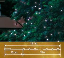 Home Hidegfehér LED-es sorolható fényfüzér 100db (KTI 100/WH)