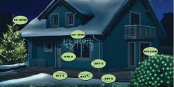 Home Melegfehér LED-es sorolható fényfüzér 100db (KTI 100/WW)