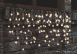Home Melegfehér LED-es sorolható fényfüggöny 200db 4m (KTF 200/WW)
