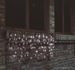 Home Hidegfehér LED-es sorolható fényfüggöny 200db 4m (KTF 200/WH)