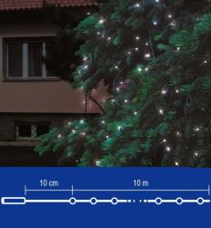 Home Hidegfehér LED-es sorolható fényfüzér 200db 20m (KTI 200/WH)