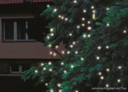 Home Melegfehér LED-es sorolható fényfüzér 200db 20m (KTI 200/WW)