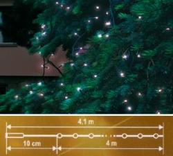 Home Hidegfehér LED-es sorolható fényfüzér 40db 4m (KTI 40/WH)