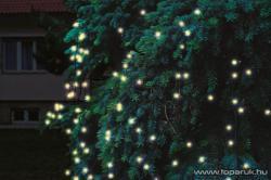 Home Melegfehér LED-es sorolható fényháló 240db 3x3m (KTH 240/WW 3x3)