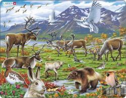 Larsen Skandinávia állatvilága 50 db-os FH14