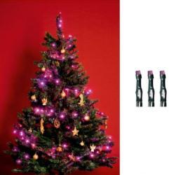 Home 4m-es, 50 LED-es fényfüzér - pink (KI 50 LED/P)