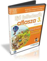 Stiefel Ifjú felfedezők atlasza 3. CD, digitális tananyag