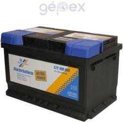 Cartechnic Ultra Power 72Ah 680A Jobb+