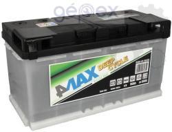 4MAX 90Ah 800A Jobb+