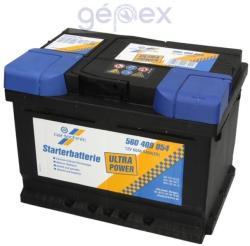 Cartechnic Ultra Power 60Ah 540A Jobb+