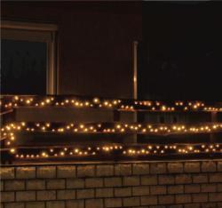 Home Melegfehér LED-es fényfüzér 200db 14,5m (KKL 200/WW)