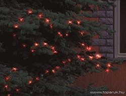 Home Piros LED-es fényfüzér 200db (KKL 208/RD)