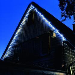 Home Hidegfehér LED-es fényérzékelõs fényfüzér 8prg 100db (KTL 108/WH)