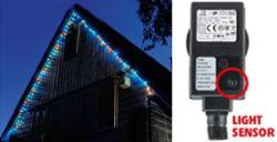 Home Színes LED-es fényérzékelõs fényfüzér 8prg 100db (KTL 108/M)