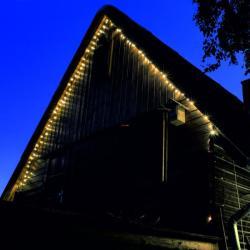 Home Melegfehér LED-es fényérzékelõs fényfüzér 8prg 100db (KTL 108/WW)