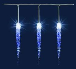 Home Hidegfehér LED-es jégcsap fényfüzér 50db 12m (KJL 50)
