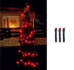 Home Piros LED-es fényfüzér 8prg 200db 14m (LED 208/RD)