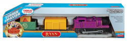 Mattel Fisher-Price Thomas Track Master Ryan motorizált kisvonat rakománnyal CDB75